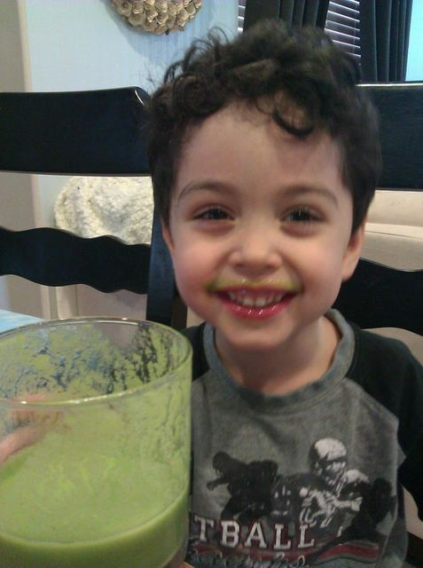 Carter Green smoothie
